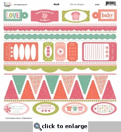 Ellie: 12 x 12 Die Cuts