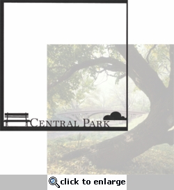 New York: Central Park 12 x 12 Overlay Quick Page Laser Die Cut
