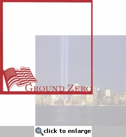 New York: Ground Zero 12 x 12 Overlay Quick Page Laser Die Cut
