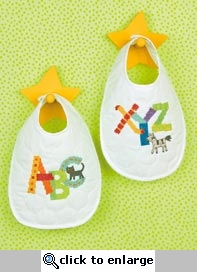 Alphabet Bibs Dimensions Needlework