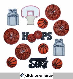 Basketball Buttons