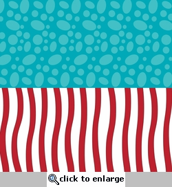 Digital Download: Seuss: Halvisies - Spots and Stripes 12 x 12 Paper