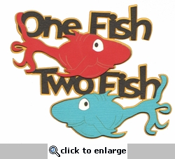Digital Download: Seuss: One Fish Two Fish Die Cut