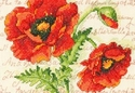 Poppy Pair Dimensions Needlework