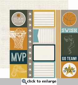 All Star: Journaling 12 x 12 Double-Sided Paper