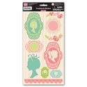 Audrey: Cardstock Sticker Sheet
