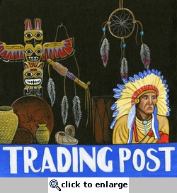 Trading Post 12 x 12 Paper