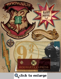 Harry Potter: Harry Potter Layered Sticker Sheet