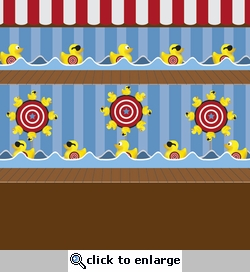 Digital Download: Carnival Fun!: Shooting Gallery 12 x 12 Paper