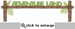 Digital Download: Adventure Land Laser Die Cut