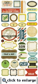Toy Box  Phrase Stickers