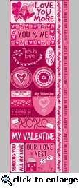 Anything For Love: 6 x 12 Combo Sticker