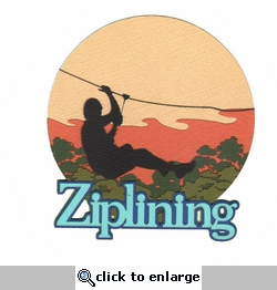 Digital Download: Ziplining Laser Die Cut