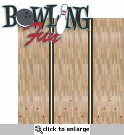 Spare Me: Bowling Fun Laser Die Cut Kit