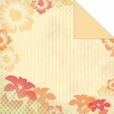 One Fine Day: Flowers 12 x 12 Double-Sided Cardstock