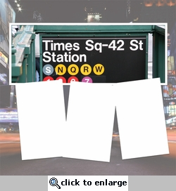 Panorama: Times Square Station Frame Kit