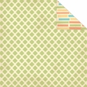 One Fine Day: Green Pattern 12 x 12 Double-Sided Cardstock