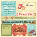 One Fine Day: 12 x 12 Phrases Cardstock