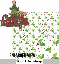 Naughty Or Nice: Christmas Morning 2012 2 Piece Laser Die Cut Kit