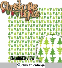 Naughty Or Nice: Christmas Lights 2 Piece Laser Die Cut Kit