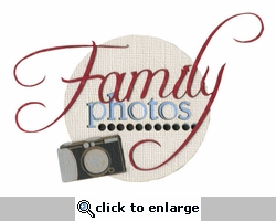 Family Photos Laser Die Cut