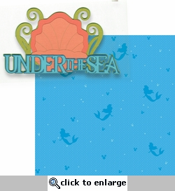 Fantasy Land: Under The Sea 2 Piece Laser Die Cut Kit