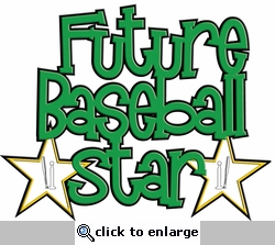 Digital Download: Future Baseball Star Laser Die Cut