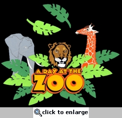 A Day At The Zoo Laser Die Cut
