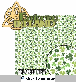 Lucky Charm: Exploring Ireland 2 Piece Laser Die Cut Kit