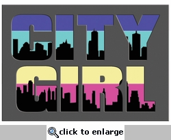 Digital Download: City Girl Laser Die Cut