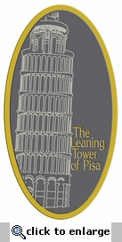 Digital Download: The Leaning Tower of Pisa Laser Die Cut