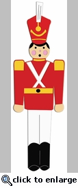 Digital Download: Toy Soldier Border Laser Die Cut
