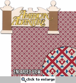 Around The World: American Adventure 2 Piece Laser Die Cut Kit