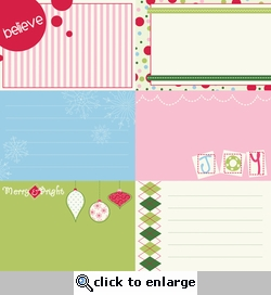 Holiday Style: Lickety Slip Horizontal 12 x 12 Double-Sided Paper