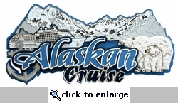 Alaska Cruise Die-Cut