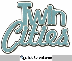 Twin Cities 3-Layer Laser Title Cut