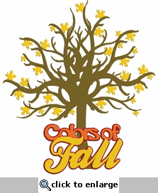 Digital Download: Colors Of Fall Laser Die Cut