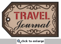 Travel Journal Laser Die Cut