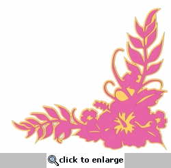 Hawaiian Sunset: Hawaiian Hibiscus Laser Die Cut