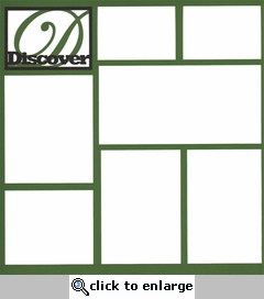 Discover 12 x 12 Overlay Laser Die Cut