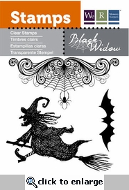 Black Widow: Cobwebs Clear Stamps