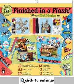 Disney Magic Kingdom Finished in a Flash Kit