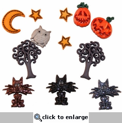 Halloween Collection: Scaredy Cats Buttons