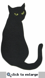 Black Cat Laser Die Cut