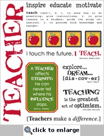 Say It With Stickers: Teacher Sticker Sheet