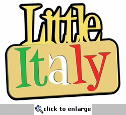 Digital Download: Little Italy Laser Die Cut