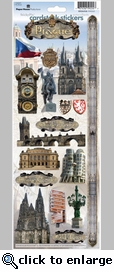 Prague Cardstock Sticker
