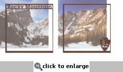 National Parks: Rocky Mountain Double 12 x 12 Overlay Quick Page Laser Die Cut