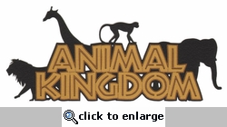 Animal Kingdom Laser Die Cut