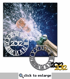 SYT 1-2-3 New Year's Eve 12 x 12 Layout Kit